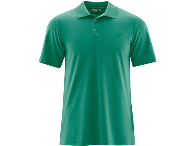 Maier Sports Ulrich Poloshirt Heren, ultramarine green